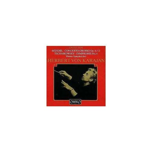 Orfeo Czajkowski p / handel g - concerto grosso op. 6 / 12, symph. 4