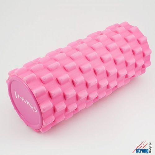 Hms Wałek do masażu  roller 33cm różowy (5907695501339)