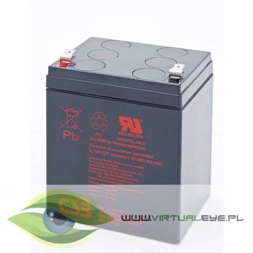 Fideltronik  csb akumulator hr 1221w f2 12v/5.1ah szybka dostawa! darmowy odbiór w 21 miastach!