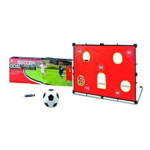 Zestaw piłkarski bramka, piłka, pompka, do nauki gry w piłkę. marki Sti ltd