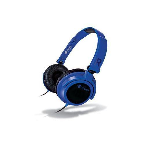 Słuchawki nauszne MELICONI Cuffia Speak Smart Fluo Niebieski