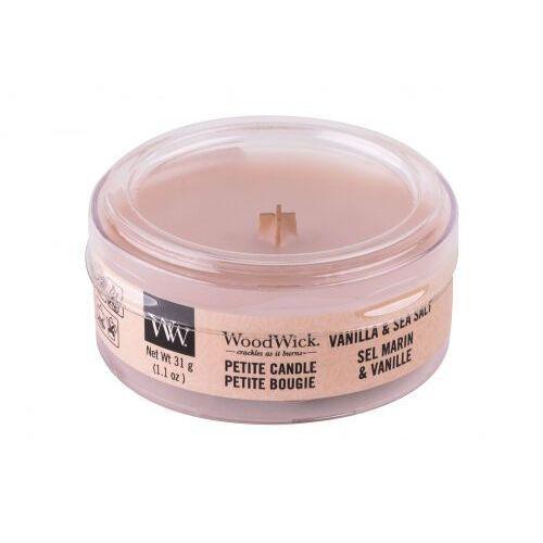 Woodwick vanilla & sea salt świeczka zapachowa 31 g unisex