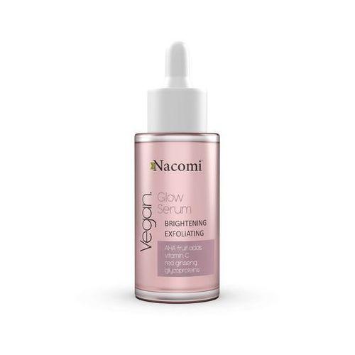 vegan glow serum serum rozjaśniająco złuszczające 40ml marki Nacomi