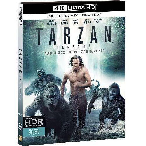Tarzan: Legenda (4K Ultra HD) (Blu-ray) - David Yates DARMOWA DOSTAWA KIOSK RUCHU (7321999343606) - OKAZJE