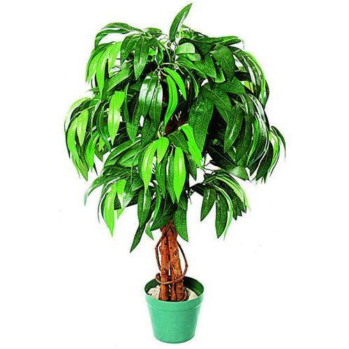 Greentree Sztuczne drzewo drzewko mango 100 cm kwiaty - mango 100 cm