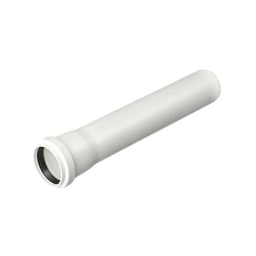Rura kanalizacyjna z kielichem Pipelife Comfort S14 40 / 1000 mm biała