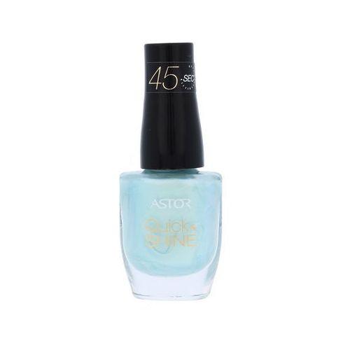 Astor nail polski szybkie & shine 8 ml (cień 601 alluring blue)