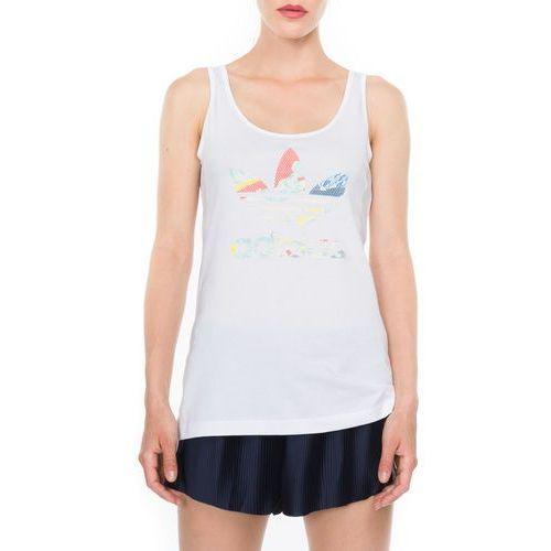 adidas Originals Trefoil Podkoszulka Biały 36, kolor biały