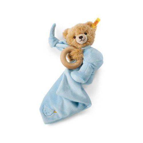 przytulanka miś schlaf-gut-bńr, 3in1, kolor niebieski, marki Steiff
