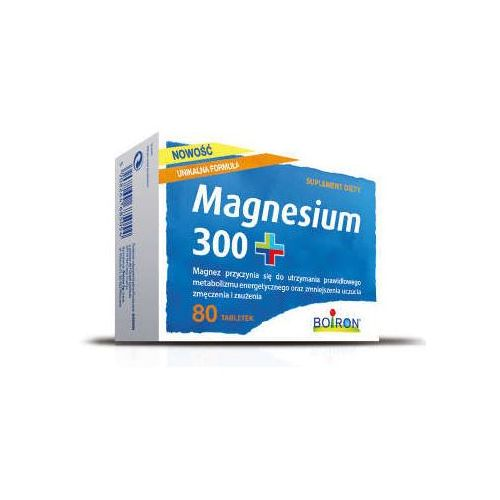 Tabletki BOIRON Magnesium 300+ 0,5g x 80 tabletek