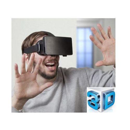 Wirtualne Okulary 3D/Google VR na Głowę (do smartfona, tabletu..) + Pilot.