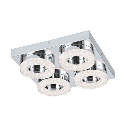 Plafon Eglo Fradelo 95664 lampa sufitowa ścienna 4x4W LED chrom/kryształ, kolor chrom