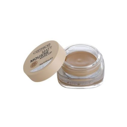 Catrice Matt Mousse 12h podkład matujący w piance 030 Natural Beige (Even Finish,Invisible Pores and Lines) 16 g