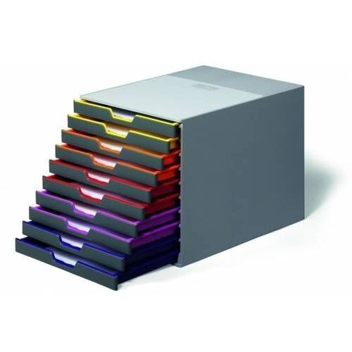 Pojemnik 10 szuflad DURABLE VARICOLOR - X05463