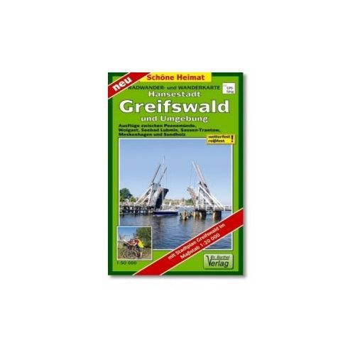 Doktor Barthel Karte Hansestadt Greifswald und Umgebung