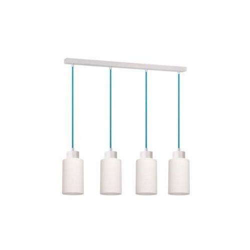 SPOT-LIGHT BOSCO Lampa wisząca Dąb bielony/Petrol 4XE27-60W 1713432, kolor dąb