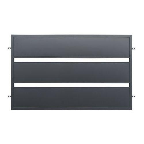 Przęsło Polbram Steel Group Leda 200 x 118 cm ocynk antracyt