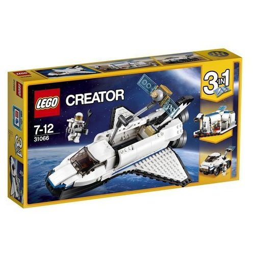31066 ODKRYWCA Z PROMU KOSMICZNEGO (Space Shuttle Explorer) KLOCKI LEGO CREATOR. Najniższe ceny, najlepsze promocje w sklepach, opinie.