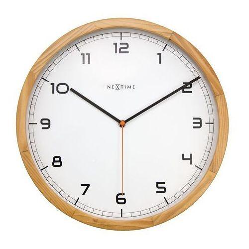 - zegar ścienny company wood marki Nextime