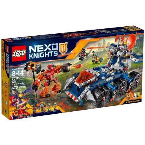 LEGO NEXO KNIGHTS, Pojazd Axla, 70322. Najniższe ceny, najlepsze promocje w sklepach, opinie.