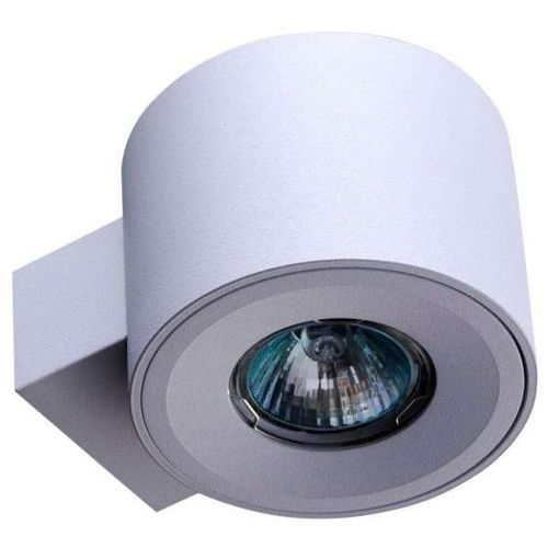 Kinkiet lampa ścienna rutto parete metalowa oprawa tuba downlight biała marki Orlicki design