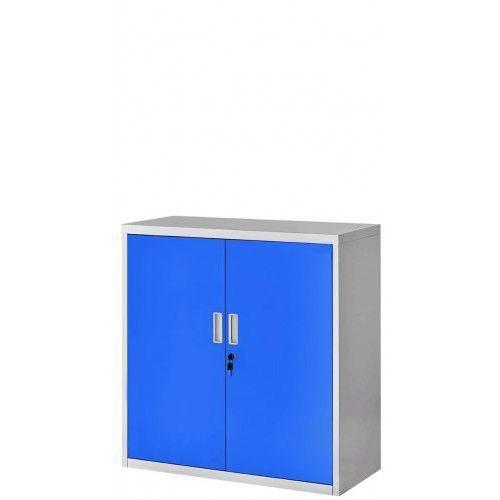 Szafka metalowa z drzwiami