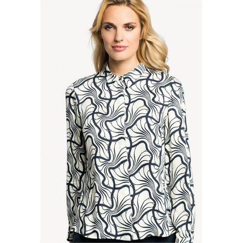 Koszula z jedwabiem w fantazyjne wzory -  wyprodukowany przez Potis & verso