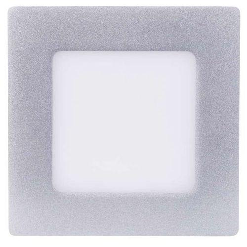 kwadratowa lampa led, 6w, biały neutralny, srebrna marki Emos