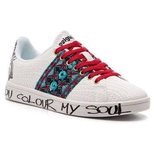 Sneakersy DESIGUAL - Shoes Cosmic Exotic Tropical 19SS12 1000