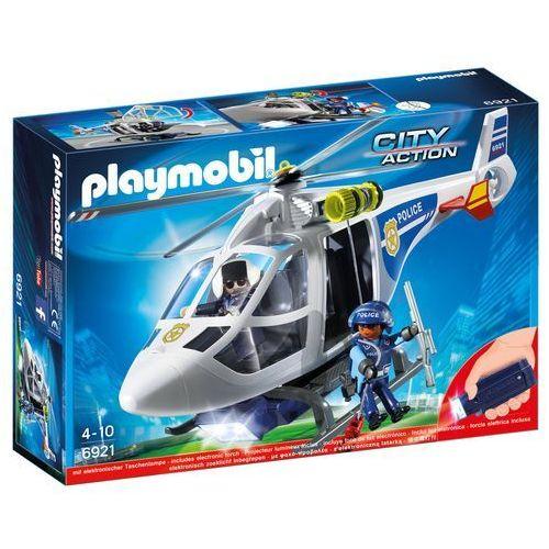 Playmobil CITY ACTION Helikopter policyjny z światłem led 6921
