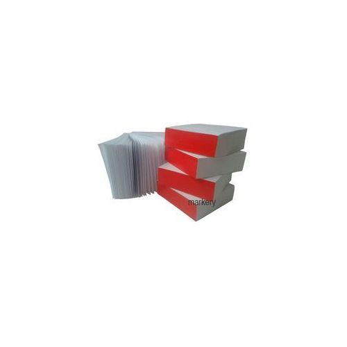 Kostka Papierowa Klejona Biała 400 kart 85x85mm
