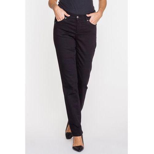 Czarne jeansy z prostą nogawką - RJ Rocks Jeans, jeansy