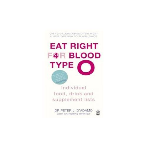 Eat Right for Blood Type O Individual Food, Drink and Supplement Lists (9780241954331)