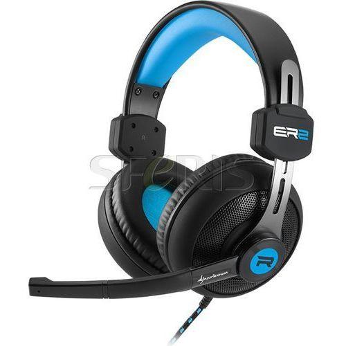 Słuchawki Sharkoon Rush ER2 Blue Black - 4044951018260