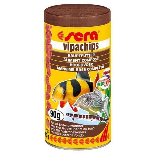 vipachips - podstawowy pokarm tonący - różne opakowania marki Sera