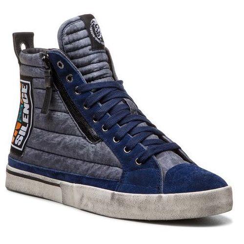 Sneakersy DIESEL - D-Velows Mid Patch Y01819 P1833 T6062 Peacoat Blue, kolor szary