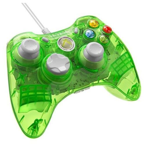 Kontroler PDP Rock Candy Xbox 360 Limonkowy + Zamów z DOSTAWĄ JUTRO! - produkt z kategorii- Gamepady