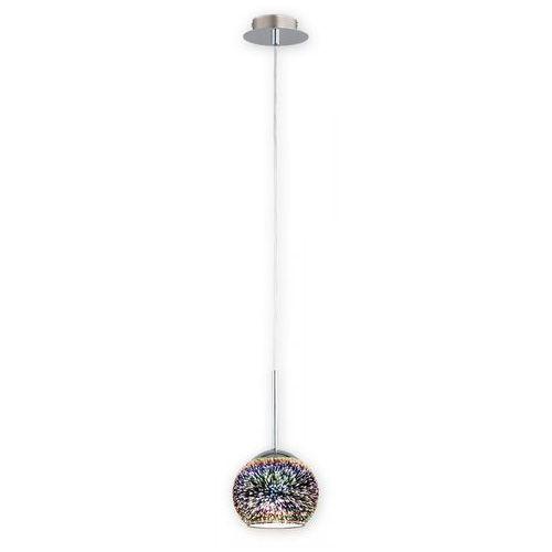 colours o2541 w1 3d lampa wisząca zwis 1x60w e27 chrom marki Lemir