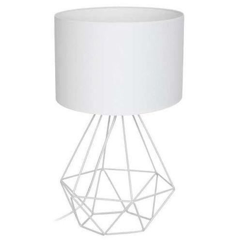 Decoland Lampa stołowa basket 1xe27/60w/230v biały (5907565971934)