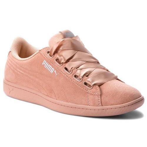 Sneakersy - vikky ribbon s 366416 05 dusty coral/dusty coral marki Puma