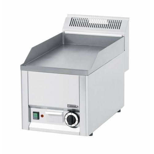 Płyta grillowa elektryczna gładka nastawna   320x480mm   3000w marki Diamond