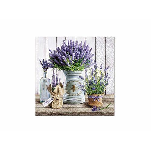 Serwetki lavender 33 x 33 cm 20 szt. marki Paw decor