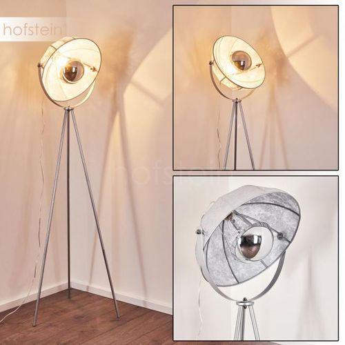 Machaila Lampa Stojąca Srebrny, 1-punktowy - Nowoczesny - Obszar wewnętrzny - Machaila - Czas dostawy: od 3-6 dni roboczych (4058383157329)