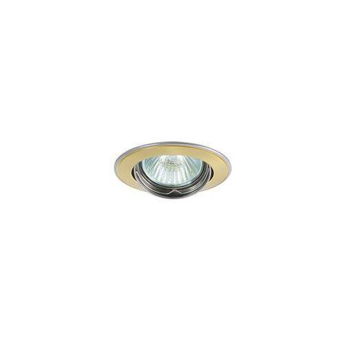 Greenlux Oczko halogenowe axl 5515 1xmr16/50w perłowe złoto/ nikiel- gxpl042