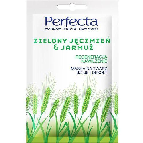 Perfecta zielony jęczmień i jarmużna maska nawilżająca i regenerująca 10ml (5900525054203)