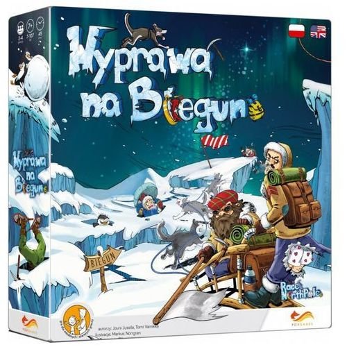 Wyprawa na biegun gra planszowa marki Foxgames