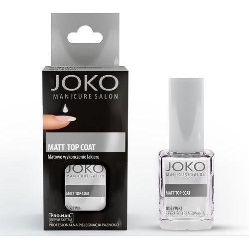 Joko manicure salon odżywka do paznokci matt top coat 10 ml - joko (5903216401317)