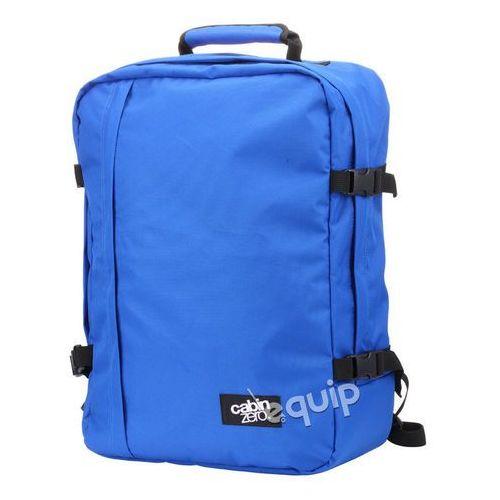 Plecak torba podręczna CabinZero + pokrowiec organizer gratis - royal blue, kolor niebieski