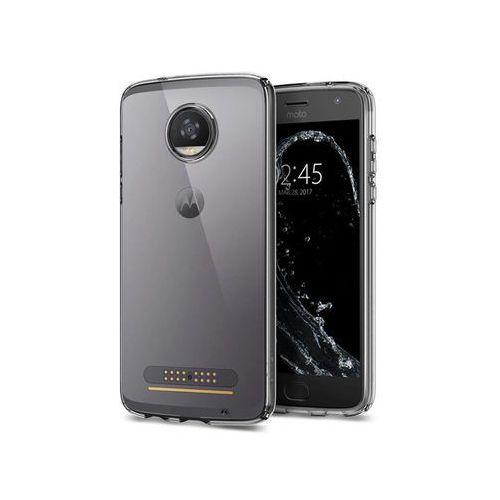 Etui Spigen Liquid Crystal Motorola Moto Z2 Play, kolor czarny