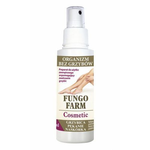 Fungo Farm Cosmetic Spray - Grzybica, Pękanie naskórka 100 ml Invent Farm (5907751403249)